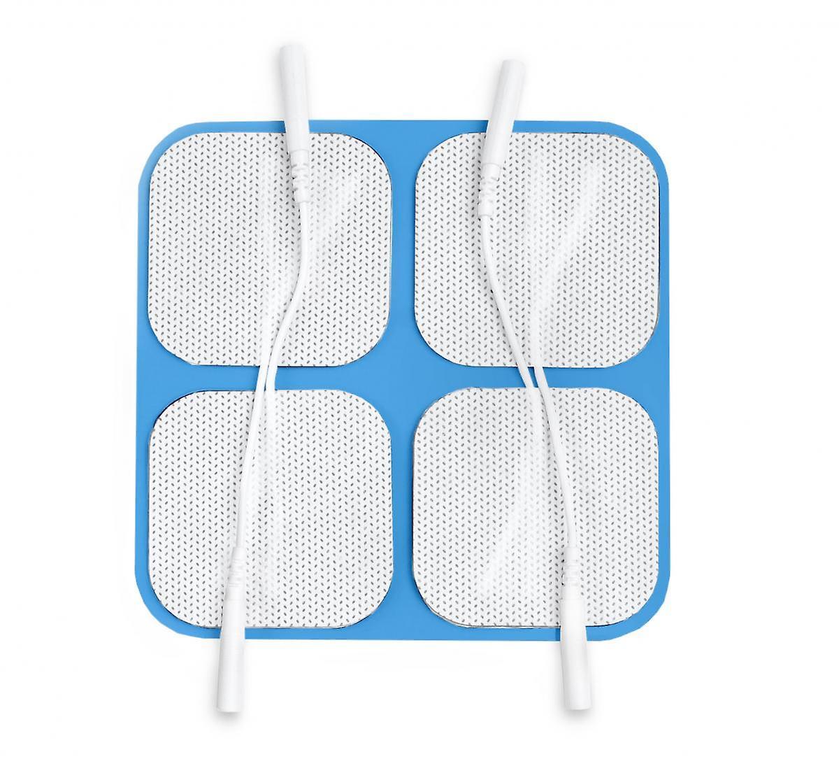 Skin-Friendly Blue Gel Electrodes 50x50mm, 1 pack