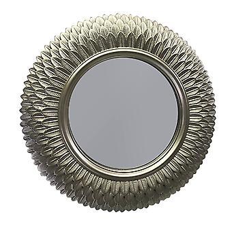 Speil mønstret messing D24 cm