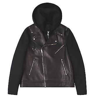 Neil Barrett Hooded Biker Jacket