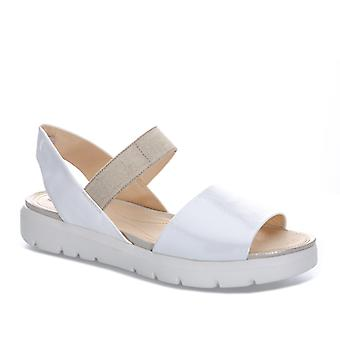 Womens Geox Amalitha Sandals In White