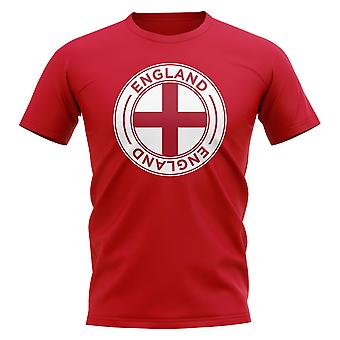 England Football Badge T-Shirt (Red)
