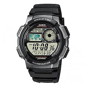 Casio World Alarm Chronograph Часы AE1000W-1BVEF
