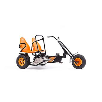 BERG Duo Chopper BF 2 Seat Pedal Go Kart Black/Orange Ages 5 Years+