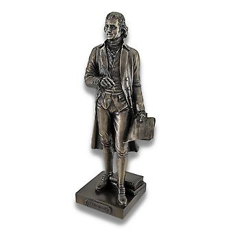 Bronzed Thomas Jefferson Declaration of Independence Statue
