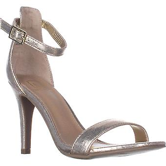 Material Girl MG35 Blaire2 Ankle Strap Sandals, Gold