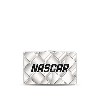 Nascar Pin In Sterling Silver Design by BIXLER