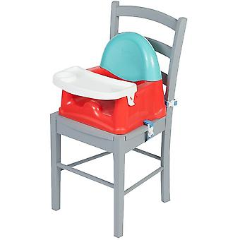 Safety 1st Swing Tray Booster Seat - Red Lines