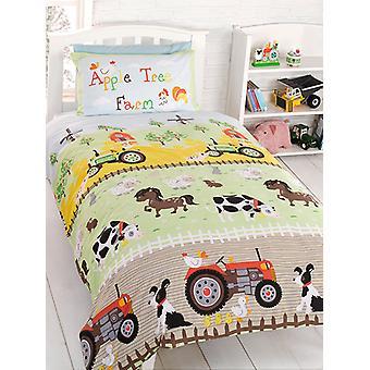 Apple Tree Farm Bettbezug & Kissenbezug Set