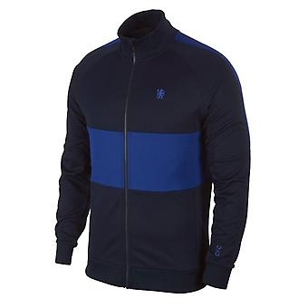 2019-2020 Chelsea Nike I96-jas (Obsidiaan)