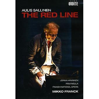 A. Sallinen - Red Line [DVD] USA import