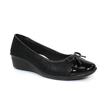 Lunar Meg Low Wedge Comfort Shoe