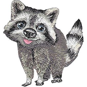 Patch - Animal Club - Raccoon Iron-On New Gifts Toys p-4529