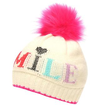 Crafted Essentials Girls Slogan Hat Child Kids