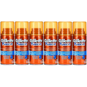 Pack of 6 - Gillette Fusion Hydrating Shaving Hydra Gel 75ml