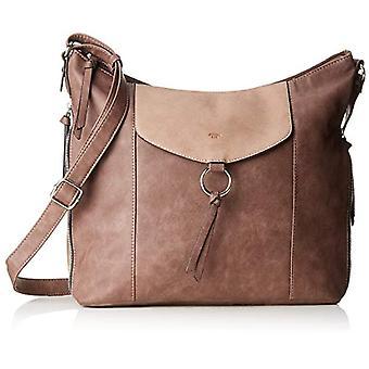 Tom Tailor 24113 Women Beige shoulder bag (Beige (taupe 21)) 15x33x37 cm (B x H x T)