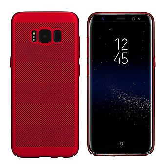Samsung J7 2016 Case Red - Mesh Holes