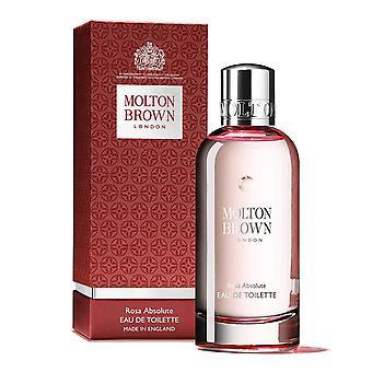 Rose Absolute by Molton Brown Eau De Toilette 3.4oz/100ml Spray New In Box
