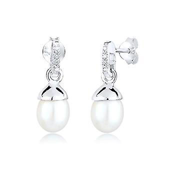 Diamore Women's Pin Earrings in Silver 925