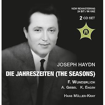 Haydn / Wunderlich - Die Jahreszeiten: importación de Estados Unidos Wunderlich [CD]