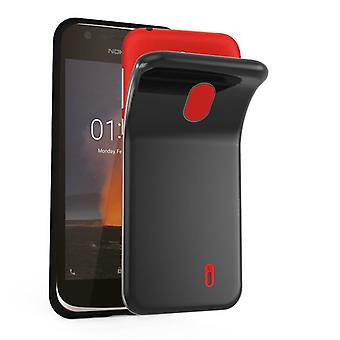 Cadorabo Case for Nokia 1 2017 Case Cover - Mobile Phone Case made of flexible TPU silicone - Silicone Case Protective Case Ultra Slim Soft Back Cover Case Bumper