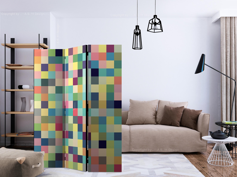 Paravent 3 volets - Millions of colors [Room Dividers]