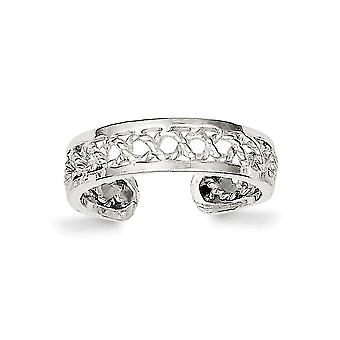 925 Sterling Silver Solid Toe Ring Jewelry Gifts for Women - 1.1 Grams