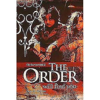 The Order/The Sin Eater (Single Sided Advance Children) Cartel original del cine