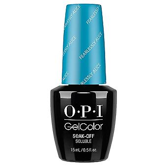 OPI GelColor gel Color-Soak off gel Pools-onbevreesd Alice 15ml (GC BA5)