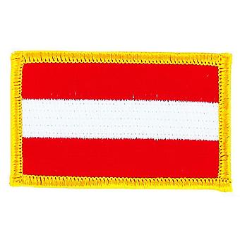 Patch Ecusson Brode Flag Itävallan Itävalta Thermocollant insigne Blason