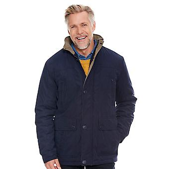 Aldon Mens Car Coat Padded