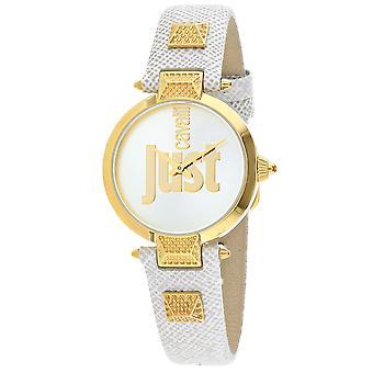Nur Cavalli Frauen's Nur Mio Silber Zifferblatt Uhr - JC1L076L0035