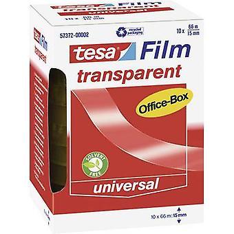 tesa 57372-00002-00 57372-00002-00 Tesa film tesafilm® شفاف (L x W) 66 م × 15 ملم 10 أجهزة الكمبيوتر (s)