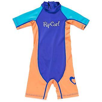 Rip Curl Mini Girls Sunsuit en bleu