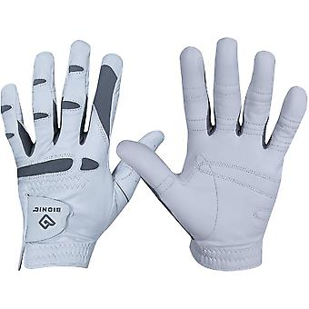 Bionic Men's Cadet Left Hand Performance Grip Pro Golf Glove - White