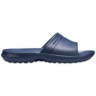 Crocs 204981 klassiske slide Kids slide sandaler Navy