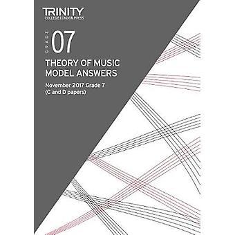Trinity College London - Theory Model Answers (Nov 2017) Grade 7 - 978