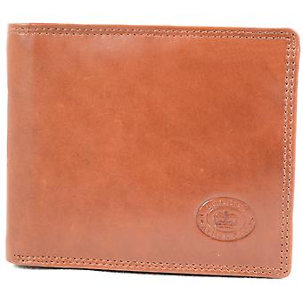 Men's Soft Leather Wallet with Multiple Card Slots and Pockets