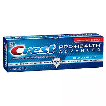 Crest pro-health advanced toothpaste, deep clean mint, 3.5 oz