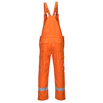 Portwest - Bizflame Ultra Flame Resist Safety Workwear Bib and Brace Dungarees