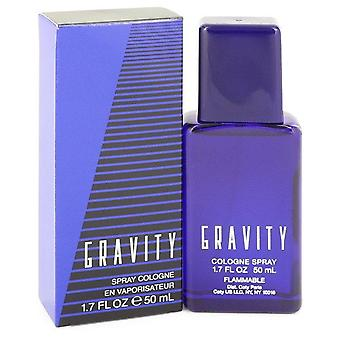 Gravity cologne spray by coty 413693 50 ml