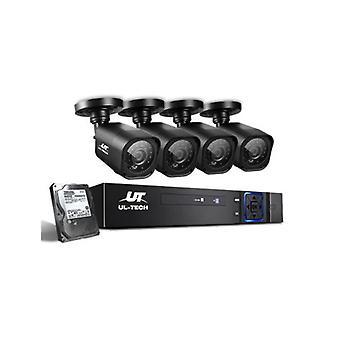 2Tb 8Ch Dvr 1080P 4カメラはCCTVセキュリティシステムを設定します