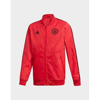 Nye Adidas Kids ' Manchester United FC Anthem jakke rød