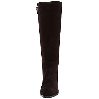 Aquatalia Womens Finola Leather Closed Toe Mid-Calf Fashion Boots