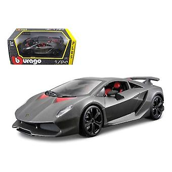Lamborghini Sesto Elemento Matt Grey 1/24 Diecast Car Model par Bburago