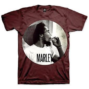 Bob Marley Smoking Reggae Official T-Shirt
