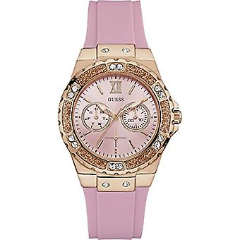 Guess watch Analog quartz ladies Silicone wrist watch W1053L3