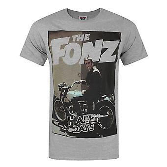 Glückliche Tage Die Fonz Männer's T-Shirt