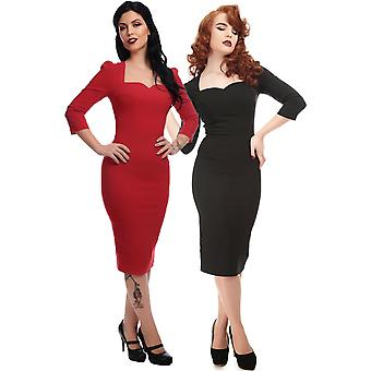 Collectif Vintage Women's Vanessa Starlet Pencil Dress