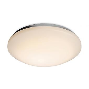 Firstlight Orbital Modern White Flush Glass Skugga TakLampa