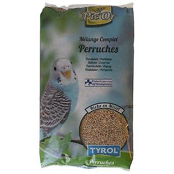 Tyrol Mezcla de periquito Pic'Or y cachorro (Birds , Bird Food)
